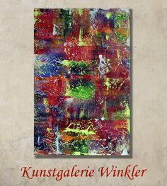 Acrylmalerei - Abstrakte Gemälde Acrylbilder auf Leinwand Unikat - ein Designerstück von A-Winkler bei DaWanda http://de.dawanda.com/shop/A-Winkler