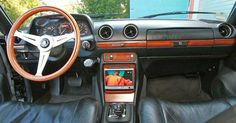 Nardi Steering Wheel Mercedes Benz 280CE W123 Mercedes Benz R Class, Mercedes W123, Steering Wheels, Car Mods, Dashboards, Good Things, Cars, Building, Projects