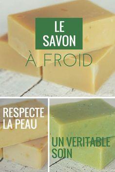 La fabrication à froid respecte les propriétés des ingrédients et offre ainsi un savon idéal pour le nettoyage de le peau.