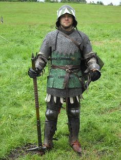 Medival Soldier Knight late early century man at arms