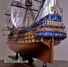 Sweet model ship