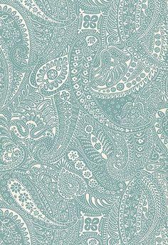 Paisley Print Schumacher Fabric