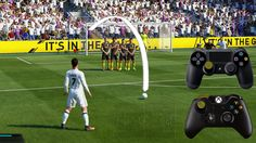 http://www.fifa-planet.com/ Fifa 17 Free Kick Tutorial   Xbox & Playstation   HD