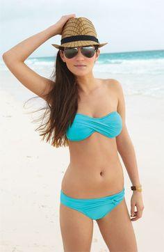 Such a cute swim suit!! Tommy Bahama 'Pearl' Bandeau Bikini