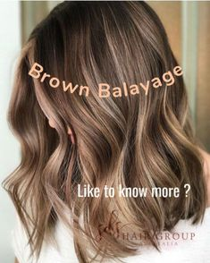 Are you going to balayage hair for the first time and know nothing about this technique? We've gathered everything you need to know about balayage, check! Brown Hair Balayage, Balayage Brunette, Hair Color Balayage, Hair Highlights, Brunette Hair, Caramel Balayage Highlights, How To Bayalage Hair, Long Bob Balayage, Bob With Highlights