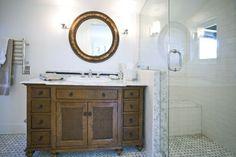 Wood Vanity - Contemporary Bathroom - Oak Knoll 2 Bathroom