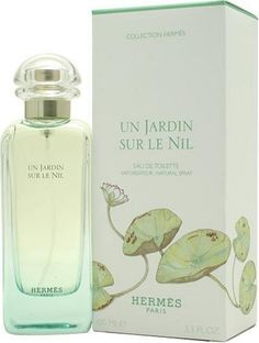 Un Jardin Sur Le Nil By Hermes For Women, Eau De Toilette Spray, 3.3-Ounce Bottle by Hermes. $87.63. This item is not for sale in Catalina Island. Packaging for this product may vary from that shown in the image above. Launched by the design house of Hermes in 2005, UN JARDIN SUR LE NIL is a women's fragrance that possesses a blend of Lotus, Green Mango, Grapefruit, Calamus, Sycamore, and Incense.Whenapplyingany fragrance please consider that there are several factors ...