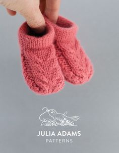 Knitting patterns for babies, designed to be practical and look beautiful. : Knitting patterns for babies, designed to be practical and look beautiful. Check out the James Shoe, show here in size: birth to 6 weeks. Knit Baby Shoes, Baby Shoes Pattern, Baby Booties, Baby Patterns, Knitted Baby Socks, Baby Hats Knitting, Knitting For Kids, Knitting Socks, Knitting Projects