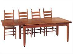 Handcrafted Amish Furniture - Cleveland Dining Set