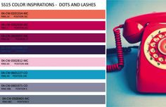Spring / Summer 2015 Color Inspirations: Dots and Lashes - eColorWorld