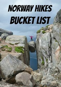 The coolest hikes in Norway that we need to try!   AGlobalStroll.com