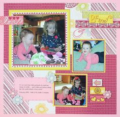 Love Be Young Stack Pack Scrapbook Layout Project Idea