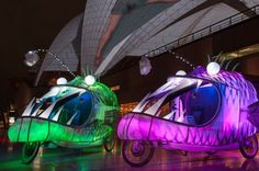 Glowing Angler Fish Tricycles