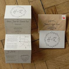 woodland story wedding invitation set by feel good wedding invitations | notonthehighstreet.com