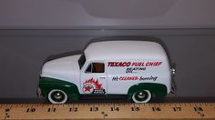 1/25 SPEC CAST BANK 1952 CHEVROLET PANEL DELIVERY TEXACO FUEL CHIEF #23503 | Collectibles, Advertising, Gas & Oil | eBay!