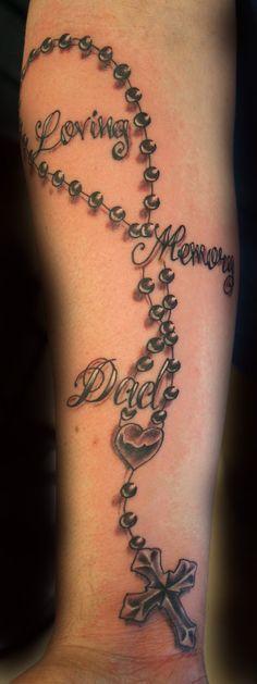 Rip Tattoos For Dad, In Loving Memory Tattoos, Future Tattoos, Love Tattoos, Body Art Tattoos, Wing Tattoos, Heart Tattoos, Skull Tattoos, Tatoos