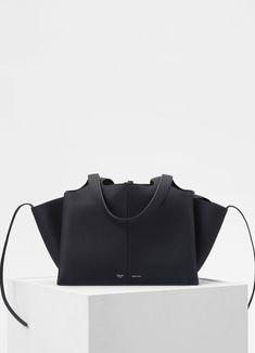 Small Tri-Fold bag in grained calfskin | CÉLINE