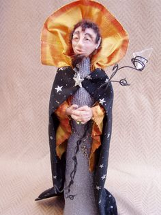 Another Wizard - Sculpey clay