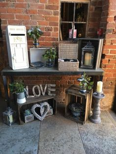 Entrance table set up at shustoke farm barns, including Wedding Reception Layout, Wedding Reception Entrance, Wedding Table Flowers, Wedding Flower Decorations, Wedding Ideas, Wedding Entrance Decoration, Table Wedding, Wedding Games, Wedding Crafts