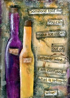 Funny wine quote canvas art print on by CountryCraftersUSA on Etsy, $12.00
