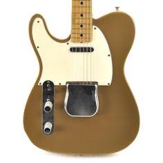 Fender Left-Handed Telecaster Shoreline Gold 1969