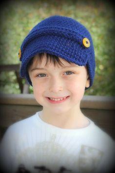 Cute Newsboy Hats for boys by emmaraedesigns