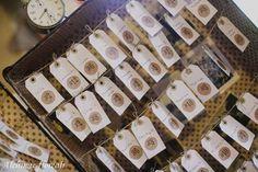 tableau de mariage in una vecchia valigia - Addobbi e decorazioni. Ricercato shabby chic - Matrimonio .it : la guida alle nozze