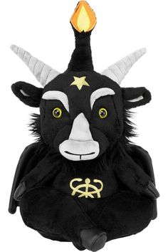 Spiral Direct TED THE GRIM-TEDDY BEAR//Collectable Soft Plush Toy//Gift Idea//Xmas