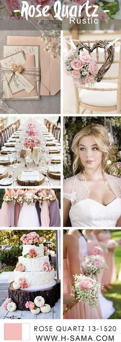 H-SAMA blog: Rose Quartz Wedding- #TREND SPRING COLORS 2016 #PANTONE