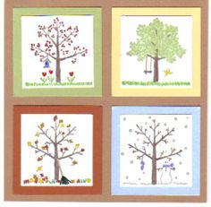 A Tree for All Seasons by galleryindex - Cards and Paper Crafts at Splitcoaststampers