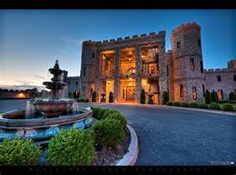 Kentucky's Castle - Famous landmark near Lexington in Versailles Kentucky which is now a bed and breakfast and special events venue. Now Called the CastlePost
