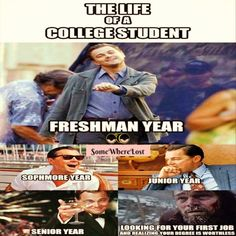 The life of college students! :D
