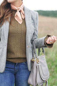 jillgg's good life (for less) | a west michigan style blog: my everyday fall style: a blazer for fall!