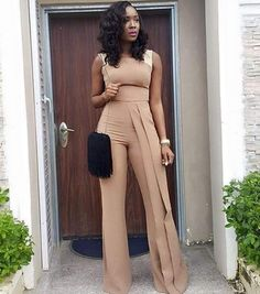Ideas Wedding Guest Outfit Romper Products For 2019 wedding outfit guest Ideas Wedding Guest Outfit Romper Products For 2019 Wedding Guest Suits, Jumpsuit For Wedding Guest, Wedding Guest Style, Classy Outfits, Cute Outfits, Church Outfits, African Dress, Look Fashion, African Fashion