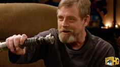 Mark Hamill Reunites With His Original Prop Lightsaber From STAR WARS in POP CULTURE QUEST Clip
