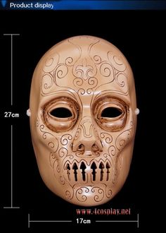 Harry Potter Movie Death Eater Mask for Halloween Party Masquerade Cosplay Prop