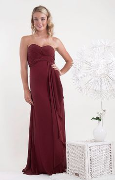 Pretty Gino Cerruti bridesmaid dress available also in other colours