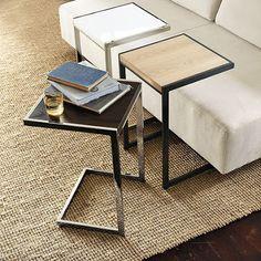Mesas que se encaixam no sofá