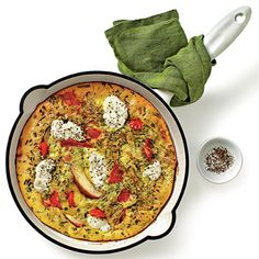 Red Pepper, Potato, and Ricotta Frittata Recipe < Quick & Easy Skillet Dinners - Southern Living