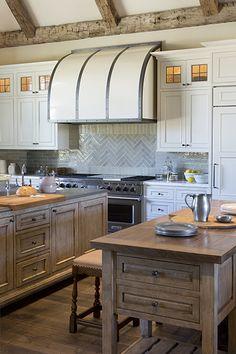 Arcadian Homestead Beautiful Kitchen Designs Kitchens Layout