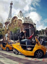 Barcelona GPS-Guided GoCar Tour