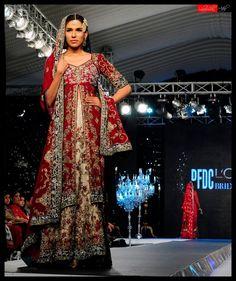 DE Fantastic Jacket Style Pakistani Bridal Lehenga