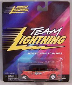 ctd-Johnny Lightning 2000 Team Lightning Munsters-red/black/A43