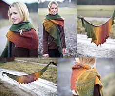 Ravelry: Sea Dragon Shawl pattern by ambah