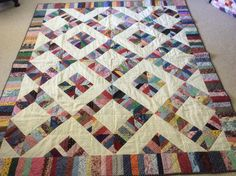 String quilt made by Sharon Theriault