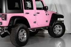 Pink Jeep Accessories | 2012 Jeep Wrangler Unlimited Sport 4X4 in Denton, Texas