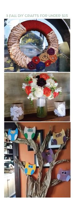 DIY Fall Crafts For The Entire Family @RemakeItHappen Fall Crafts, Diy Crafts, Fall Diy, Fall Season, Warm And Cozy, Fall Decor, Seasons, Table Decorations, Home Decor