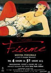 Salvatore #Fiume, #Mostra personale dal 4 giugno al 31 luglio 2015 alla Contemporanea Galleria d'arte di Giuseppe Benvenuto di #Foggia (Fg)