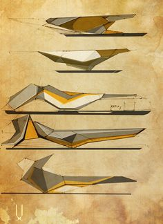 Concept architecture - bus station design by Folding Architecture, Architecture Concept Drawings, Architecture Graphics, Futuristic Architecture, Architecture Design, Triangular Architecture, Airport Design, Bus Station, Sketches