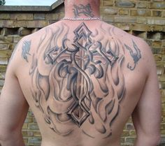 Checking the Various Celtic Tattoo Designs: Tribal Celtic Cross Design Ideas For Men On Back ~ Tattoo Design Inspiration Cool Cross Tattoos, Cross With Wings Tattoo, Tribal Cross Tattoos, Celtic Cross Tattoos, Cross Tattoo For Men, Cross Tattoo Designs, Best Tattoo Designs, Mädchen Tattoo, Tattoo Son